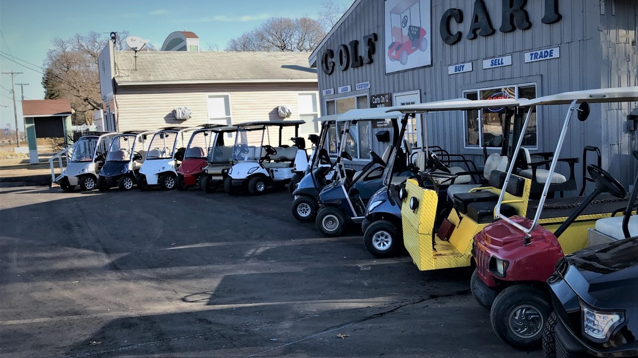 Golf Carts for Christmas